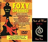 Foxy Chess Openings V146: Winning Repertoire for Black with 1.e4 e5 (Part 1) & ChessCentral's Art of War E-Book (2 Item Bundle)