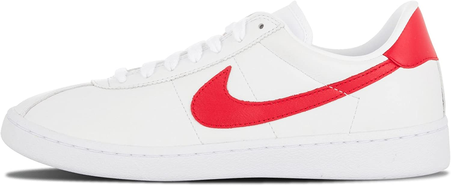 Vago colonia Amplia gama  Nike Bruin Leather - US 7.5 White/University RED: Amazon.ca: Shoes &  Handbags