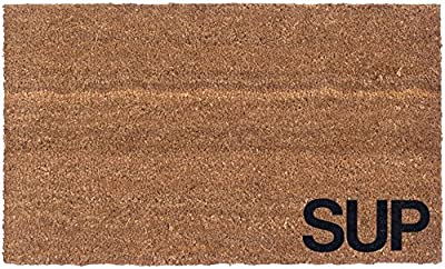 Cocomats N More Vinyl Back Sup Coir Doormat