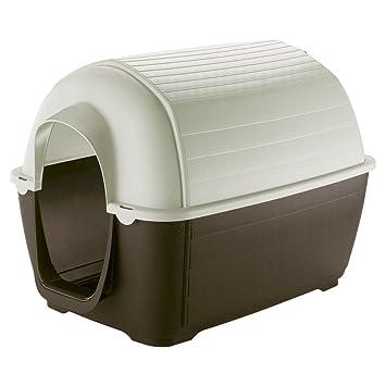Feplast 87201921 Caseta de Exterior para Perros Kenny 03, Robusto Plástico Resistente A Los Golpes