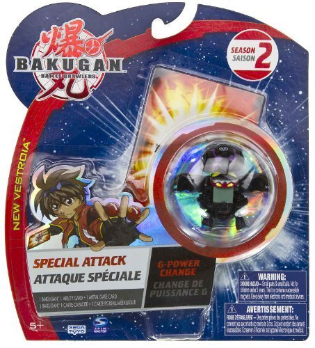 "G-Power Change (Darkus - Black): Bakugan Battle Brawlers Special Attack Season 2 - ""NOT"" Randomly Picked (CCB151P)"