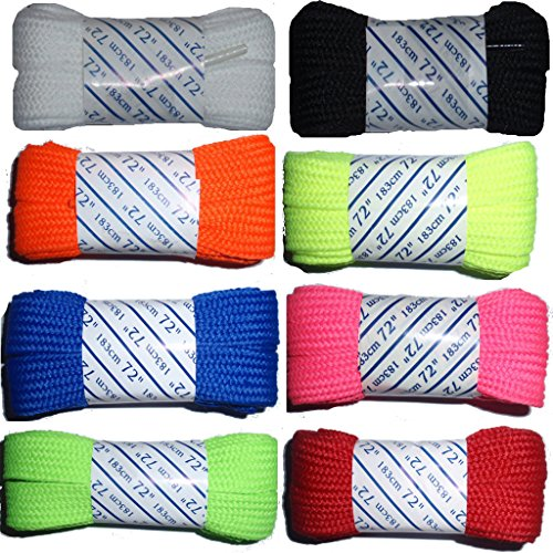 High Quality Solid Fat Roller Skate Laces 72