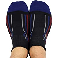 Toe Talk Men's Non Slip Grip Sport Socks for Pilates Mixed Martial Arts Yoga Weight Lifting Meditation & Around the House