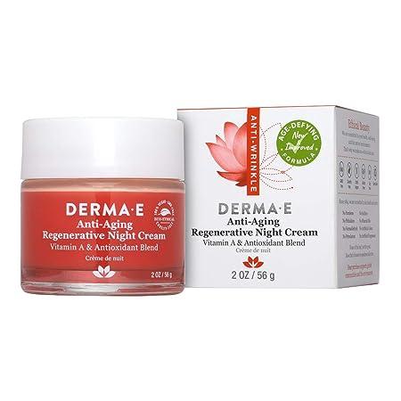 DERMA E Anti-Aging Regenerative Night Cream, 2 oz