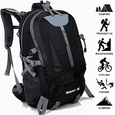 Climbing Bags Sports & Entertainment Waterproof Travel Backpack Large Capacity Breathable Nylon Outdoor Mountaineering Bag Diamond Shaped Folding Backpack Various Styles