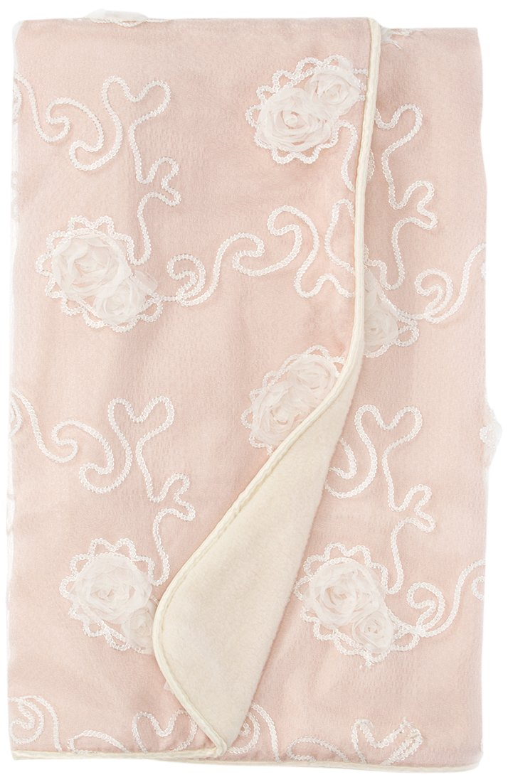 Sweet Potato Lil' Princess Quilt, Pink/Cream/Ivory by Sweet Potatoes