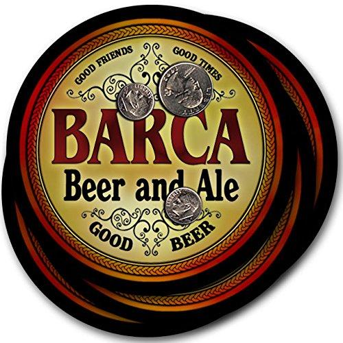 Barca Beer & Ale - 4 pack Drink Coasters