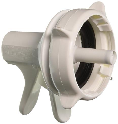Blanco dispensador de agua válvula para 55 mm corona parte superior botella