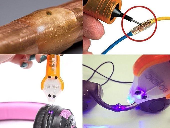 Bondic la primera del mundo líquido plástico soldador. Bond, Build, Fix y rellenar casi cualquier cosa en cuestión de segundos.