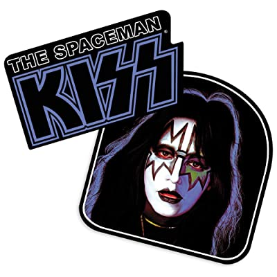 Popfunk KISS Ace Frehley Spaceman Collectible Stickers: Home & Kitchen