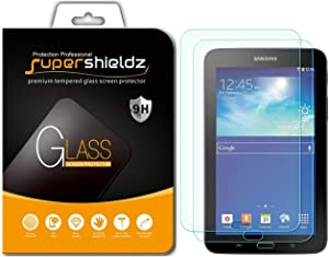 (2 Pack) Supershieldz for Samsung Galaxy Tab E Lite 7.0 and Galaxy Tab 3 Lite 7.0 Screen Protector, (Tempered Glass) Anti Scratch, Bubble Free