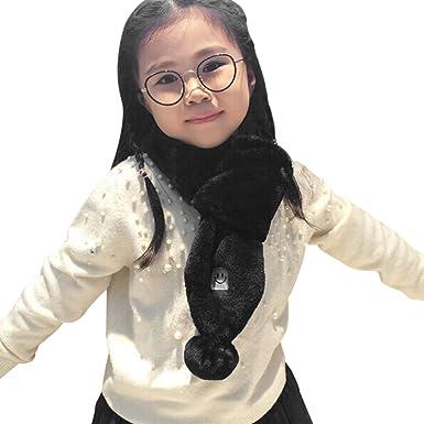 Amazon.com: Kids Girls Fashion Scarves Furry Warm Winter Scarf Neck Warmer  Wrap Neckerchief: Clothing