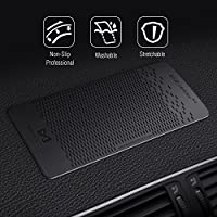 Mate2GO Anti Slip Dashboard Pad 3 Pack Non-Slip Car Dash Sticky Mats for Mobile Phones Sunglasses and Keys Car Pad and Mat
