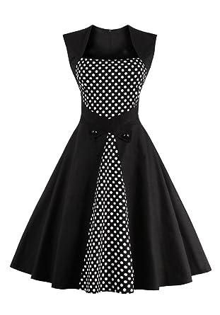 Schwarze kleider vintage