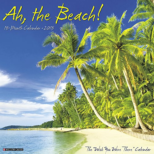Ah, the Beach! 2018 Calendar cover