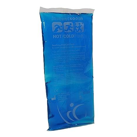 1 x CMS Rectangular calor caliente/frío hielo microondas ...