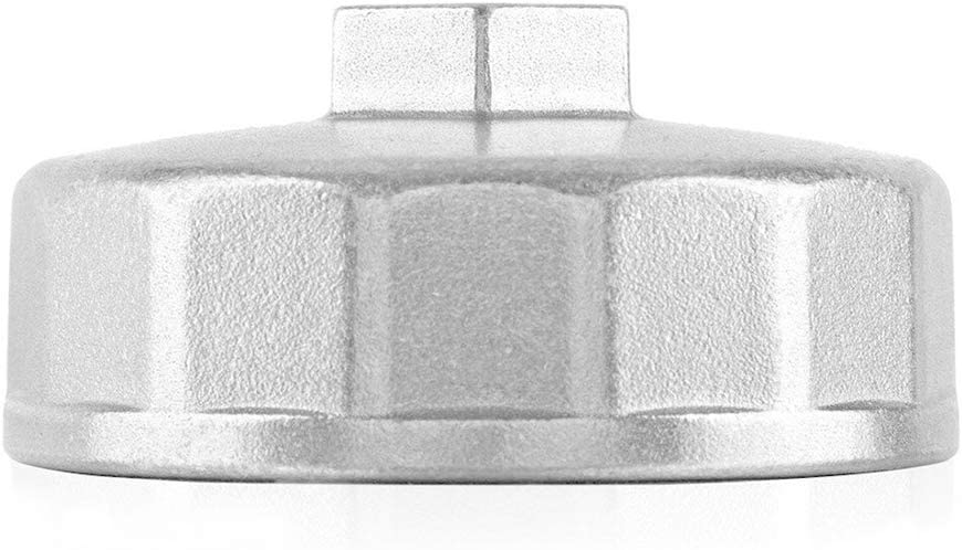74mm 14 Flutes Oil Filter Wrench Cup Socket Type Cap Remover Tool for Volkswagen Mercedes Benz VW Audi Porsche
