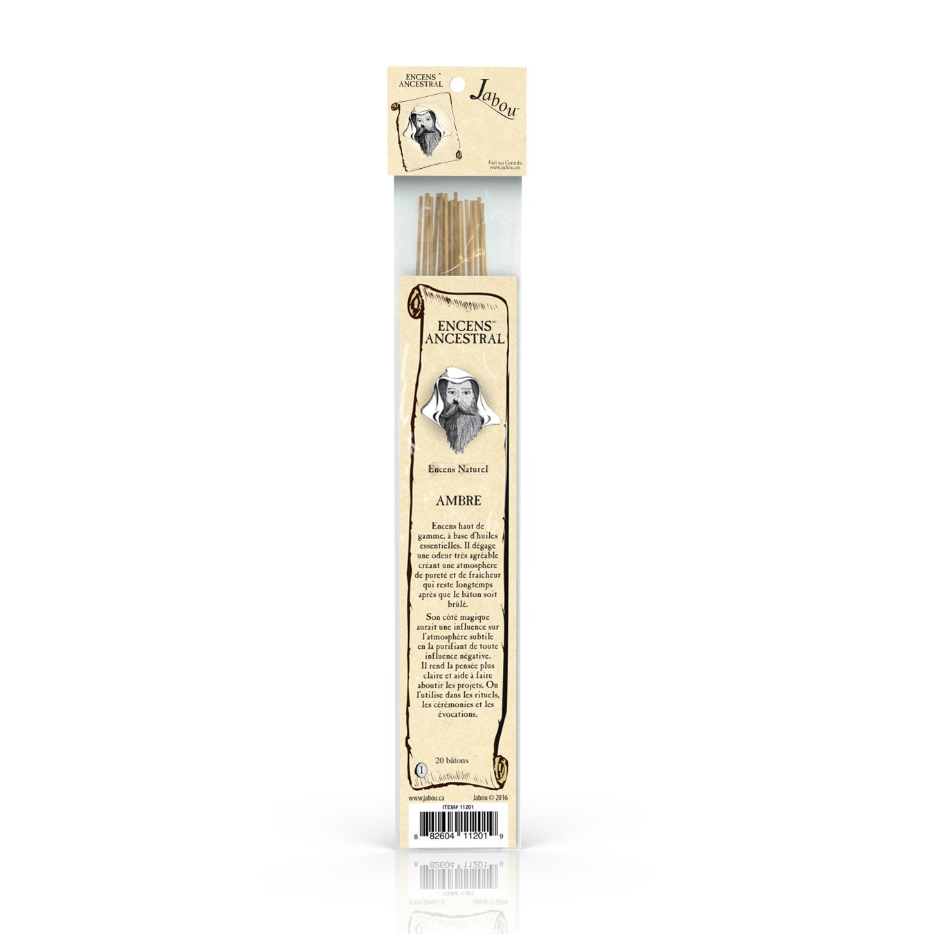 Baton Encens Senteur Frankincense /& Myrrh x 50