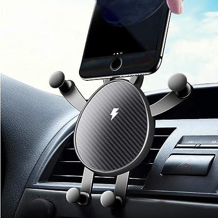 Cargador inalámbrico para automóvil, soporte para teléfono ...
