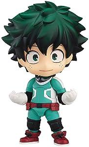 Good Smile My Hero Academia: Deku izuku midoriya Smash- Nendoroid Action Figure, Multicolor