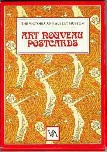 - The Victoria and Albert Museum Art Nouveau Postcard Pack (Ebury Press stationery)