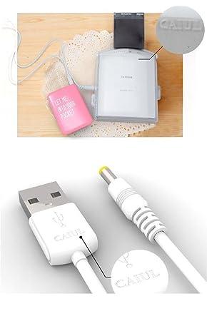USB Cable Cable de alimentación para Fujifilm Instax ...