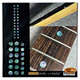 Fretboard Markers Inlay Sticker Decals for Guitar and Bass - Custom Dots Set-MX