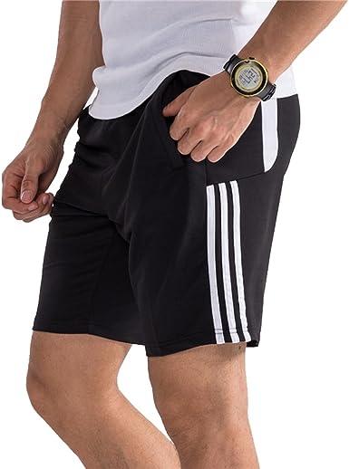 Hombre Pantalon Corto Pantalones Deportivos Fitness Bolsillos Pantalon Corto Deporte Respirable Holgado Shorts Running Shorts Verano Senderismo Escalada Pantalones Cortos Amazon Es Ropa Y Accesorios