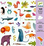 Djeco DJ08883 Stickers-Wild And Cuddly Novelty