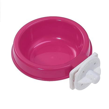 POPETPOP - Cuenco de plástico para Colgar Mascotas, Perro, Gato ...