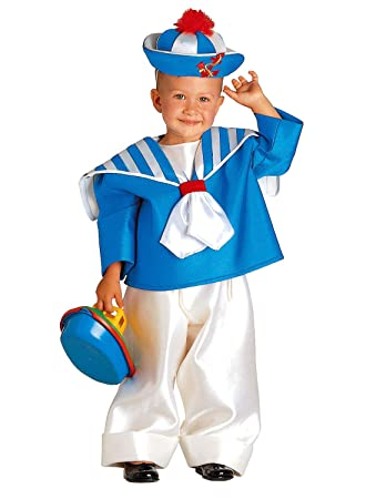 Clown Republic - Disfraz de pequeño marino para niño, 15800/00 ...