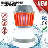 Odar 2-In-1 Bug Zapper & Camping Lantern - Rechargeable LED Lantern - IPX67 Waterproof Mosquito Killer - Portable Tent Light - Lightweight Camping Gear and Accessories – For Residential and Outdoors