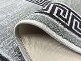 Meander Design Printed Slip Resistant Rubber Back