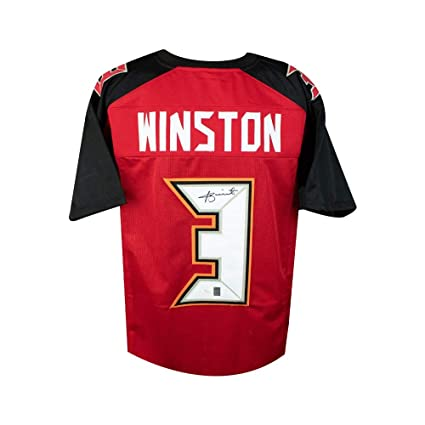 new style eb546 54e0d Jameis Winston Autographed Tampa Bay Buccaneers Custom ...