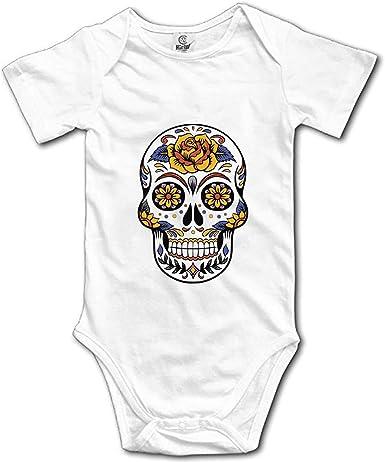 Body-bébé tête de mort 8