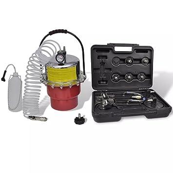 Xinglieu Compresor de Aire Neumático con Juego de Instrumentos fácil de Usar, Transportar y de
