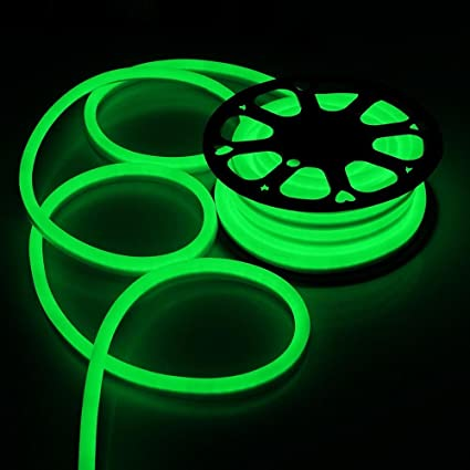buy 50ft 110v flex led neon rope light indoor outdoor holiday disco
