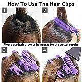 Yoaokiy Volumizing Hair Root Clip - 6 Pcs Natural