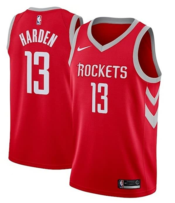 6001e507b Amazon.com  NIKE Men s Houston Rockets James Harden Red Swingman Jersey  Icon Edition Size XL  Shoes
