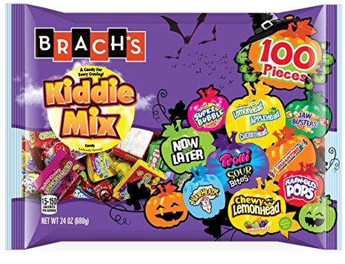 Brach's Kiddie Mix Bag, Assorted Candy, 24 -
