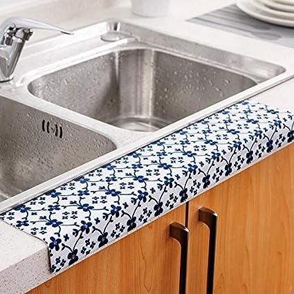HYPNOS Verduras cocina lavamanos adhesivo pegatinas impermeables pegatina baño lavabo