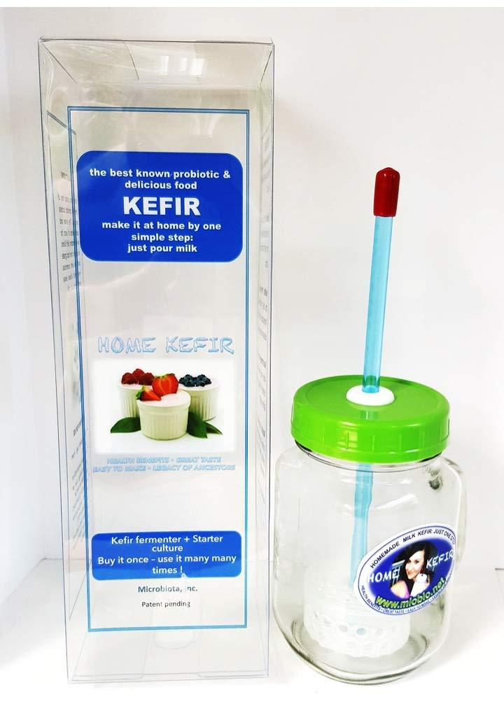 Kefir Fermenter 0.35L/12oz with Kefir Grains