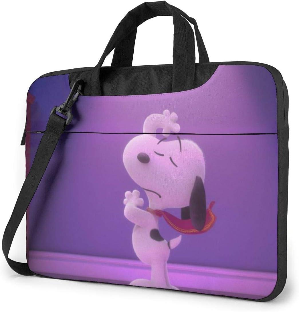 Cartoon Snoopy Laptop Sleeve Laptop Bag Tablet Briefcase Ultraportable Protective Handbag Oxford Cloth-for MacBook Pro//MacBook Air//Notebook Computer 13 inch