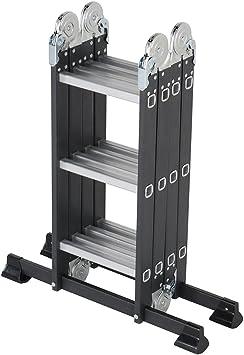 Pinnacle Systems - Escalera ajustable (12 peldaños): Amazon.es: Bricolaje y herramientas