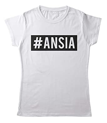 Age Print TeesBlitz T Shirt Maglia Simpatica Donna Divertente #ANSIA Taglie SML XL XXL BiancaNera tee142