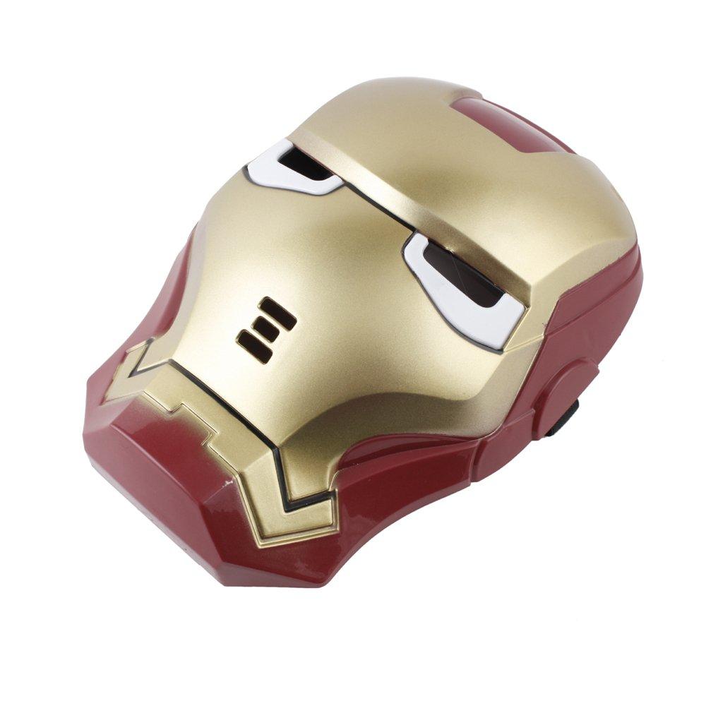 Amazon.com: Iron Man LED Light Up Mask, Hot Halloween Cosplay Toy ...