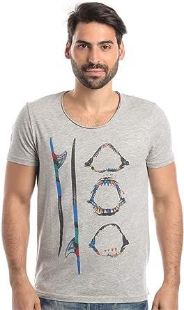 Mavi Cotton Round Neck T-Shirt For Men