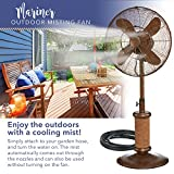 Indoor / Outdoor Misting Floor Standing Pedestal