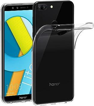 XTCASE Funda Huawei Honor 9 Lite Silicona Transparente, Ultrafina ...