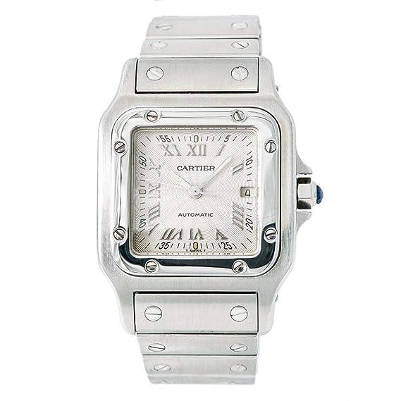 Cartier Santos galbee Automatic-Self-Wind Mens Reloj 2319 (Certificado) de Segunda Mano: Cartier: Amazon.es: Relojes